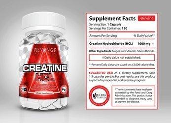 Creatine HCL 120caps